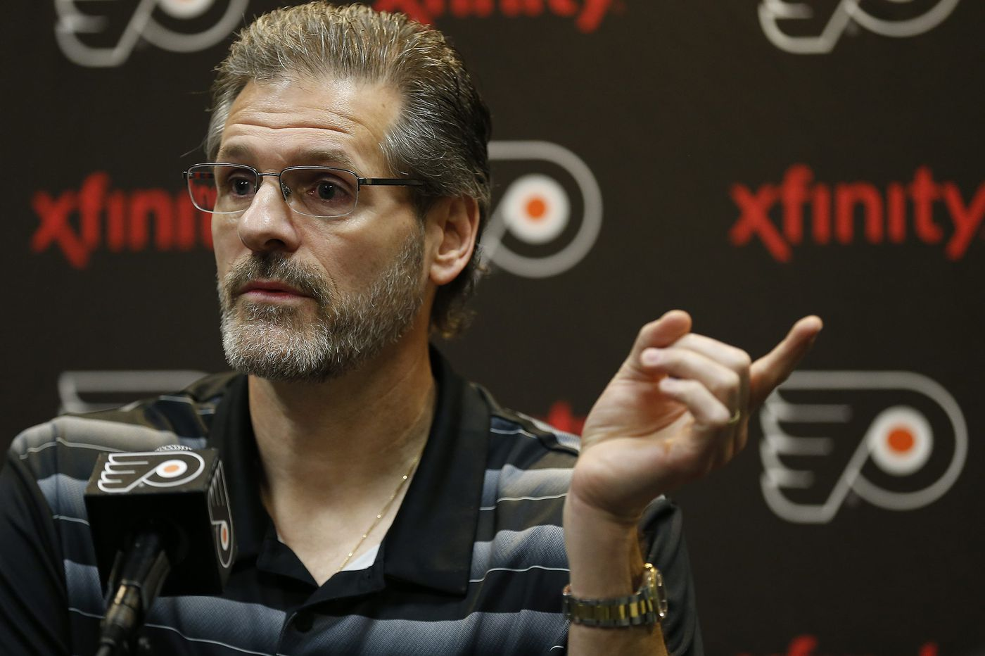 At the NHL draft, Flyers GM Ron Hextall has been at his gunslinger best