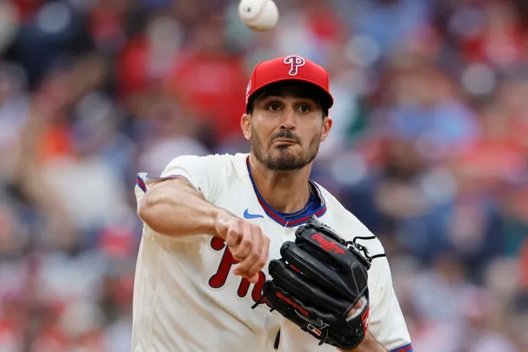 Phillies pitcher Zach Eflin could make his return to the starting rotation next week.