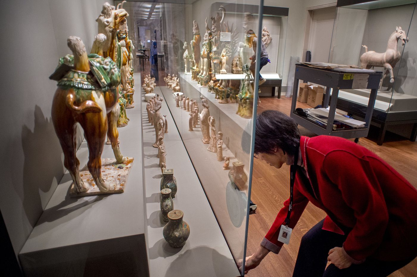 Chinese galleries at the Art Museum are reopening today after a $2 million renovation