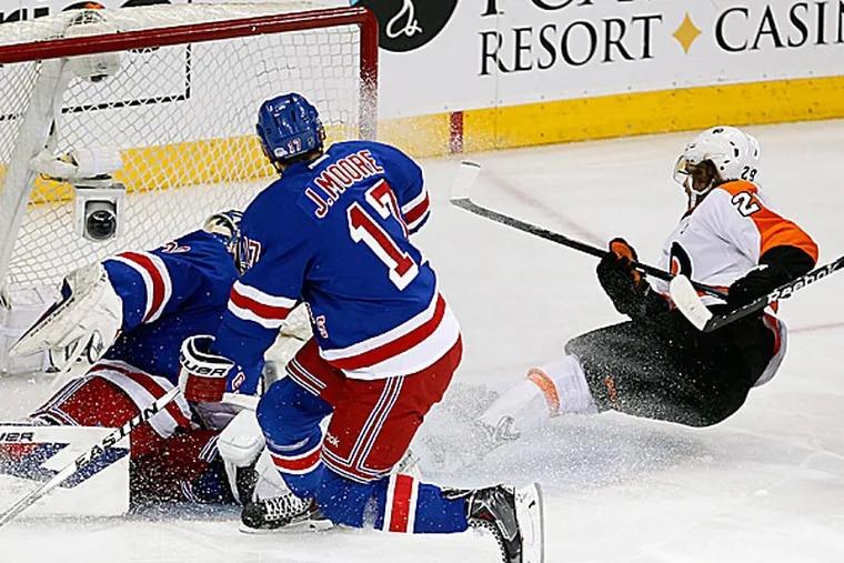 Flyers captain Claude Giroux. (Ron Cortes/Staff Photographer)