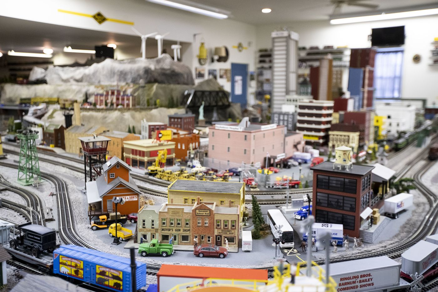 How a model train hobby sets a theme for Chalfont house