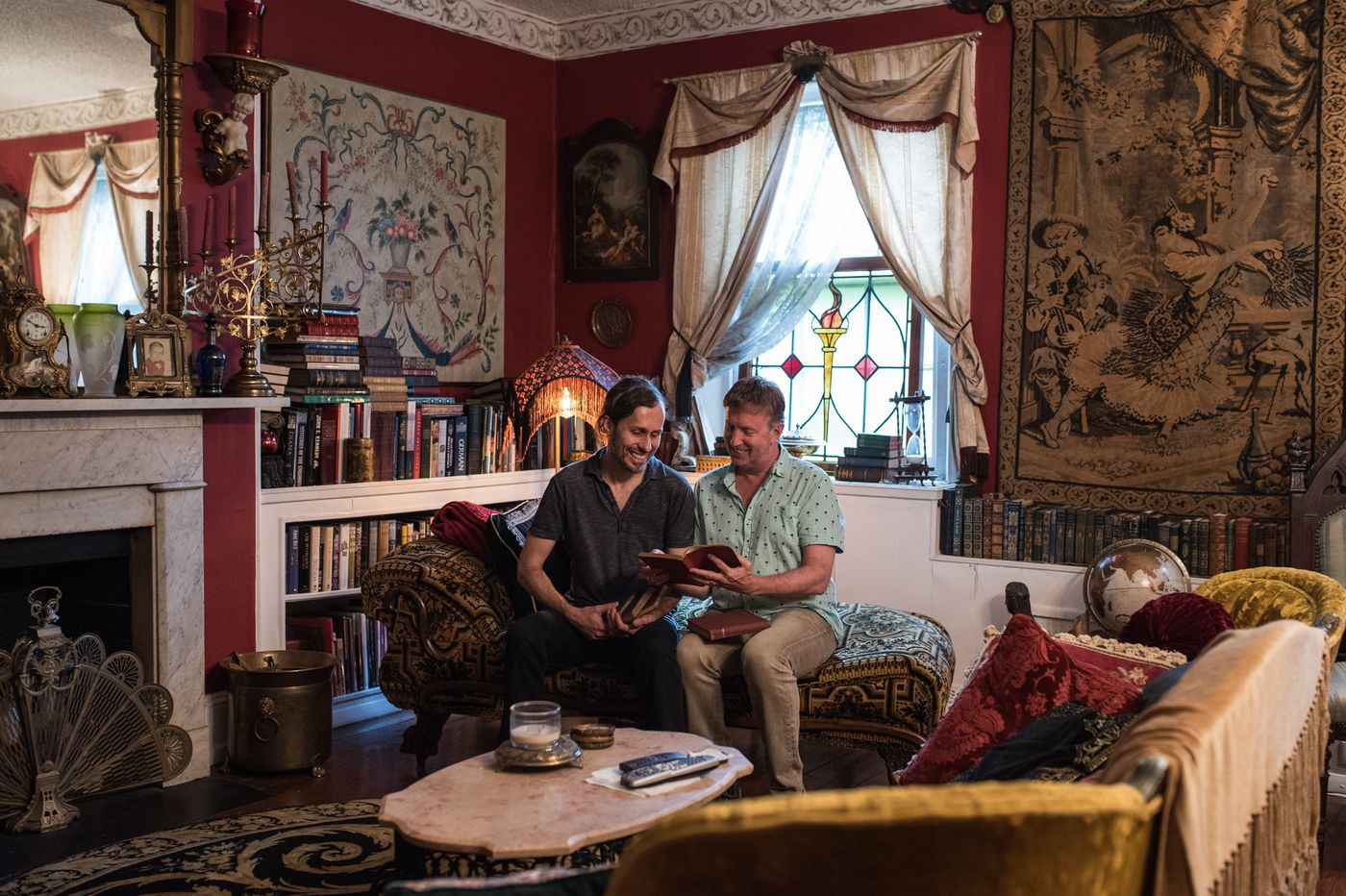 Philly couple finds a shelf full of their own 19th-century family heirlooms at Jinxed vintage shop
