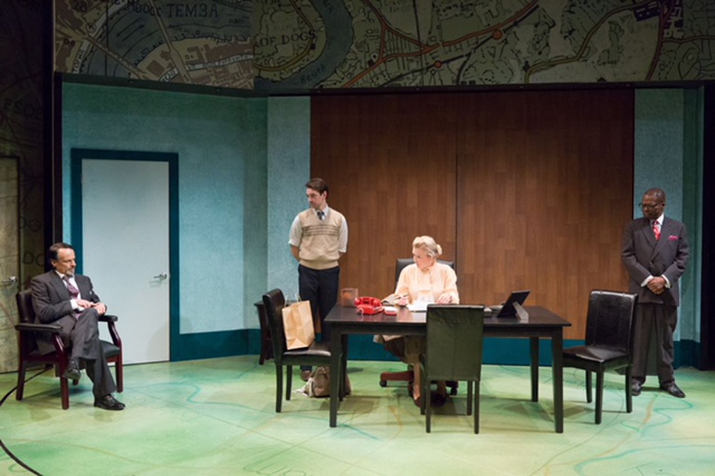 Stoppard's 'Hapgood' at the Lantern Theater: Motherhood, espionage, and quantum mechanics