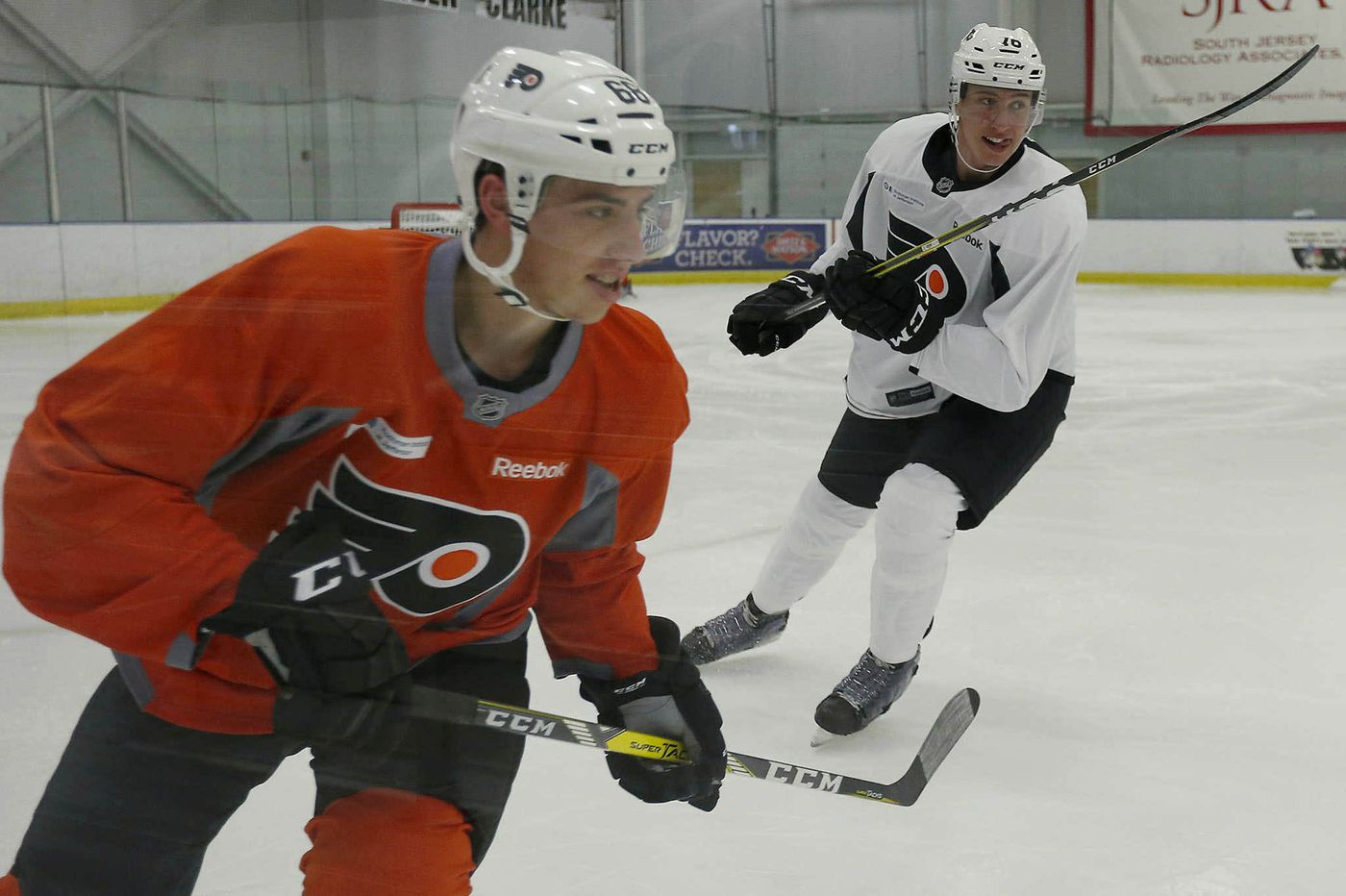 Flyers prospects Isaac Ratcliffe and Morgan Frost have grown as leaders | Sam Donnellon