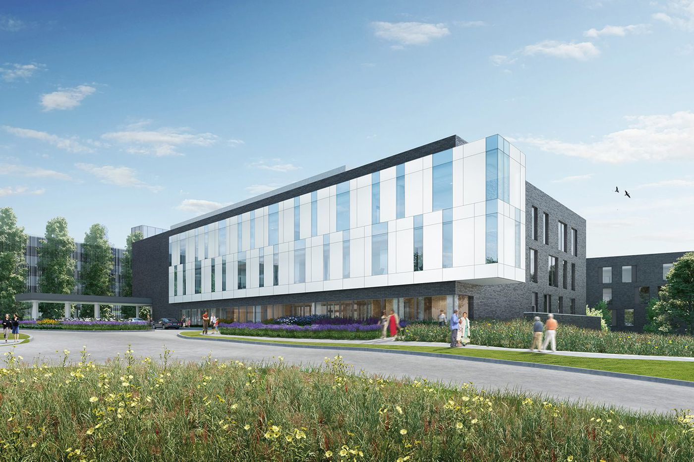 Penn breaks ground on $200M outpatient center in Radnor