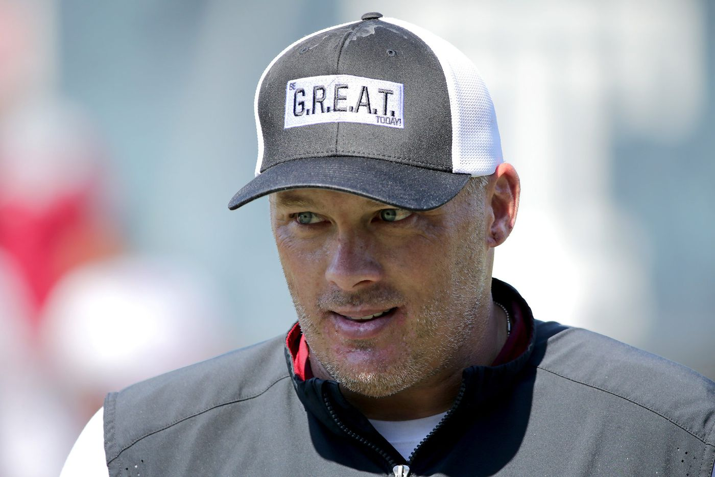 Temple coach Geoff Collins offers support for staffer fighting leukemia