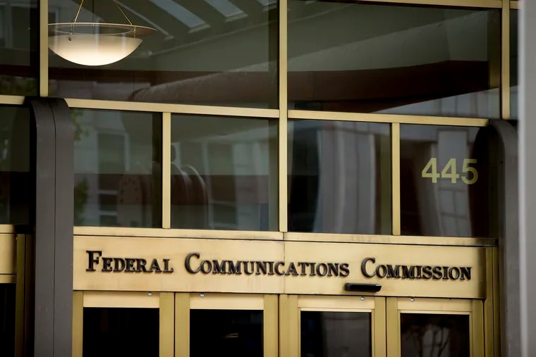 The Federal Communications Commission building in Washington in 2015.