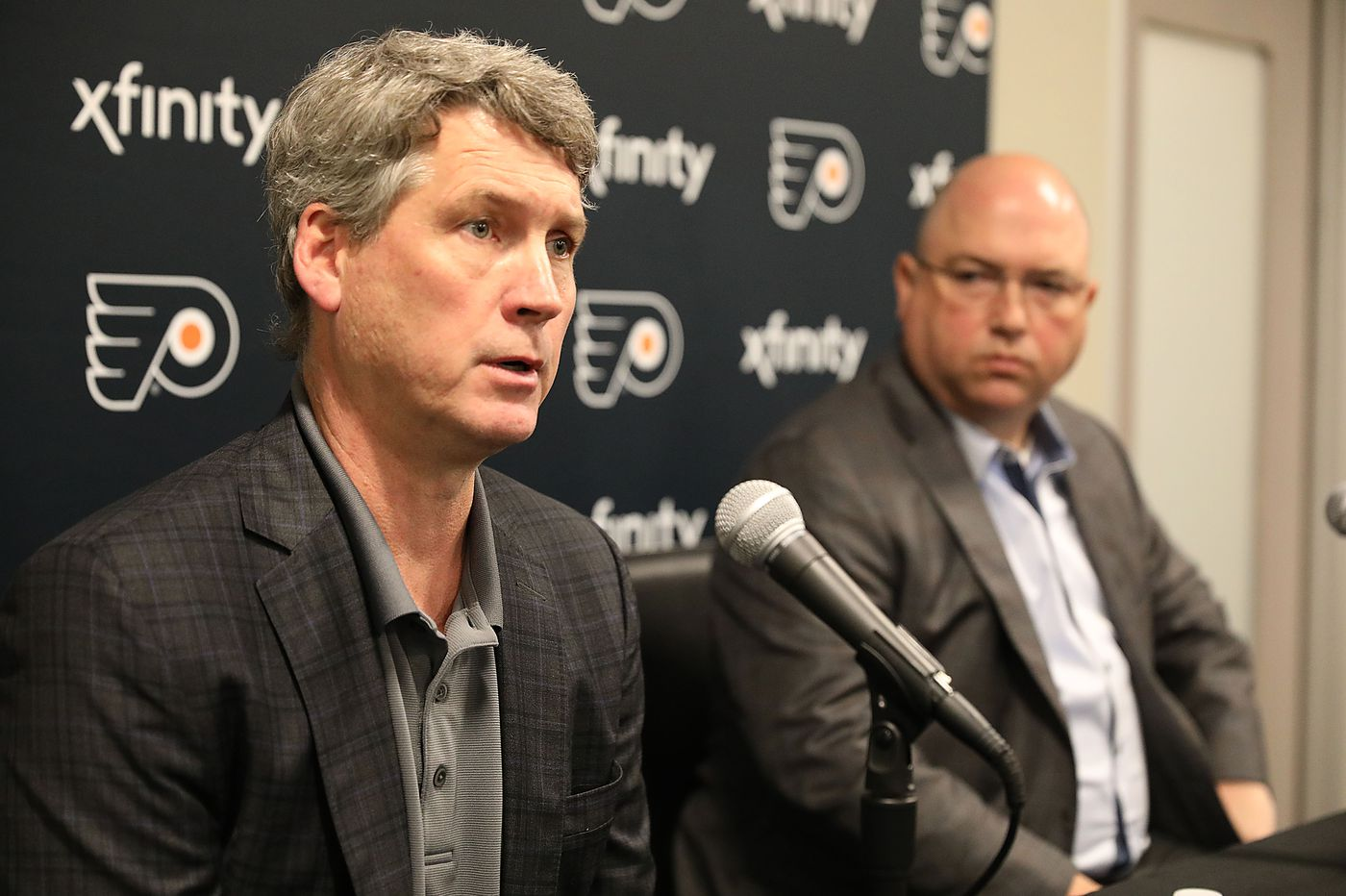 Flyers still dangling their first-round pick before strong draft is held