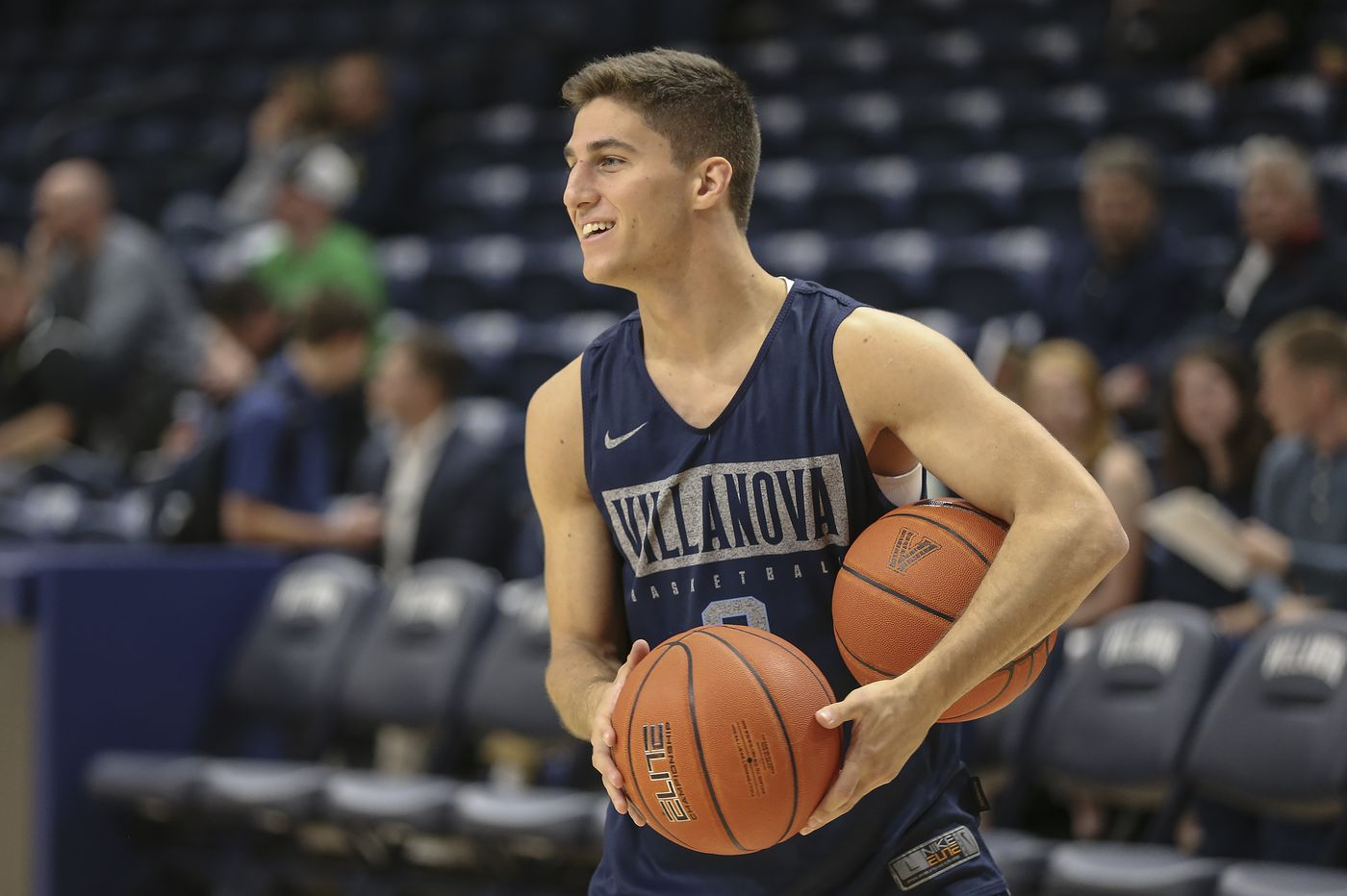 Injuries are affecting Collin Gillespie's prep for start of Villanova's basketball season