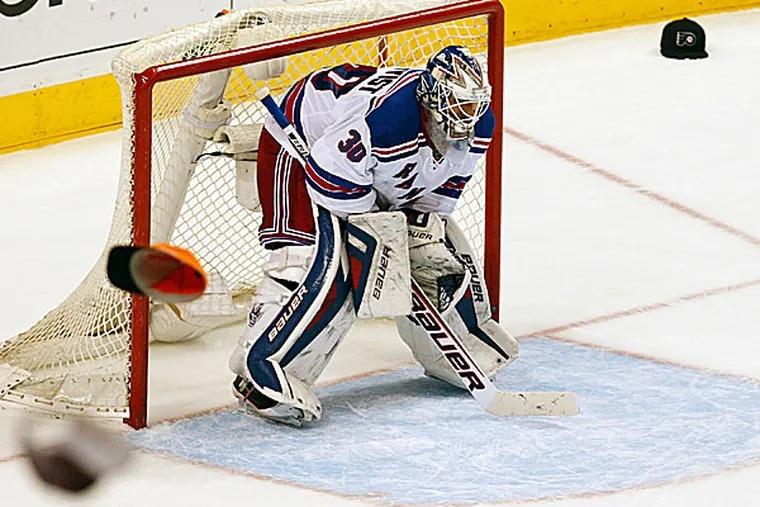 Rangers goalie Henrik Lundqvist. (Ron Cortes/Staff Photographer)