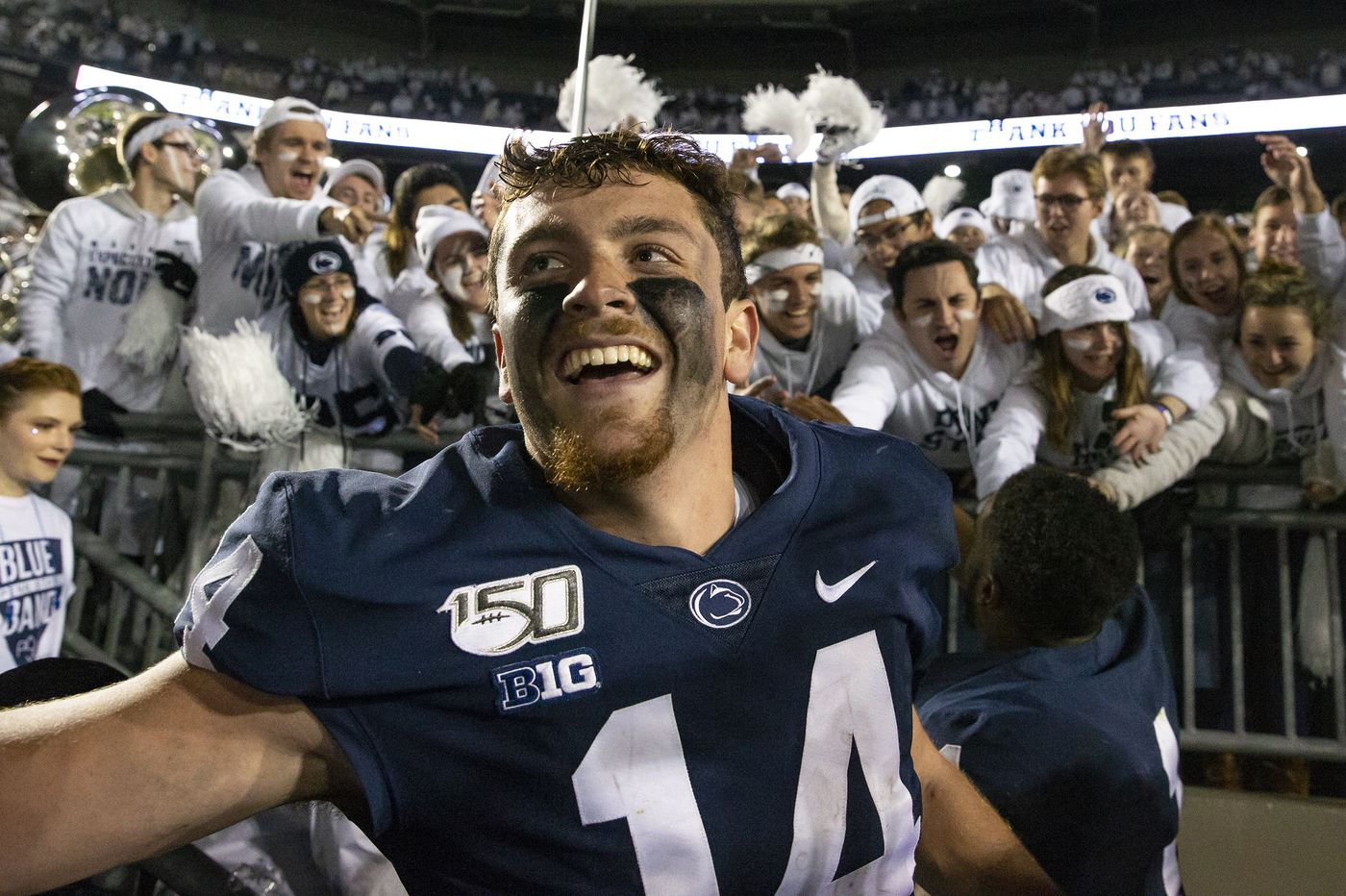 No. 7 Penn State hangs on for 28-21 victory over No. 16 Michigan with help of late goal-line stand
