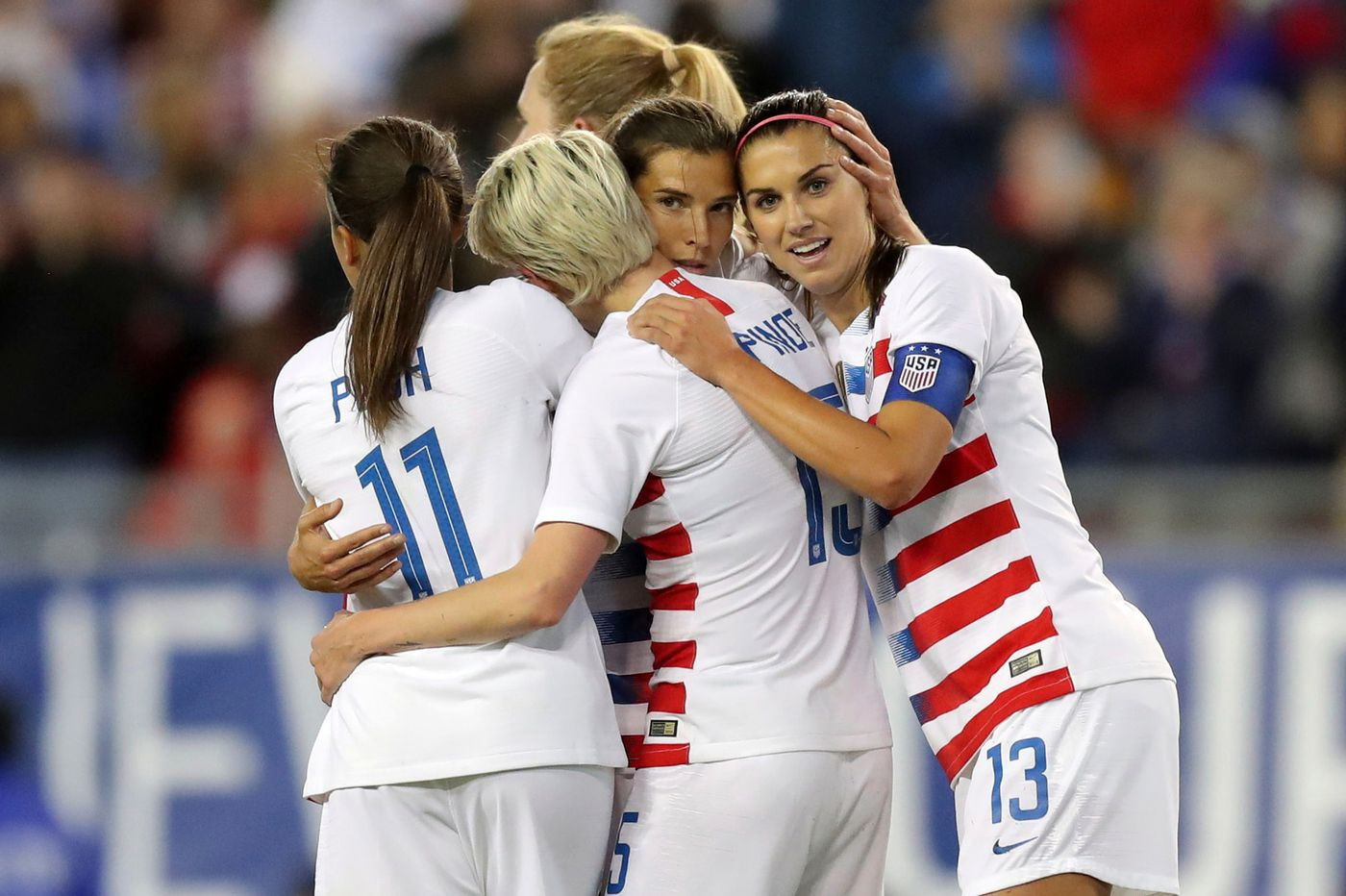 USWNT sues U.S. Soccer Federation, alleging Equal Pay Act discrimination