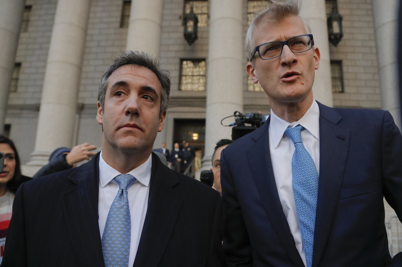 Former Trump lawyer Michael Cohen pleads guilty to lying to Congress
