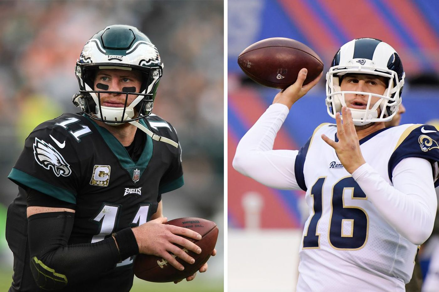 The Carson Wentz-Jared Goff argument enters new realm as both Eagles and Rams near contract negotiation time
