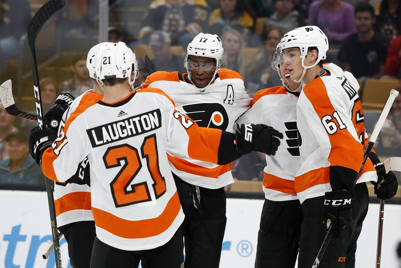 Wayne Simmonds and Sean Couturier look good in Flyers' preseason debuts