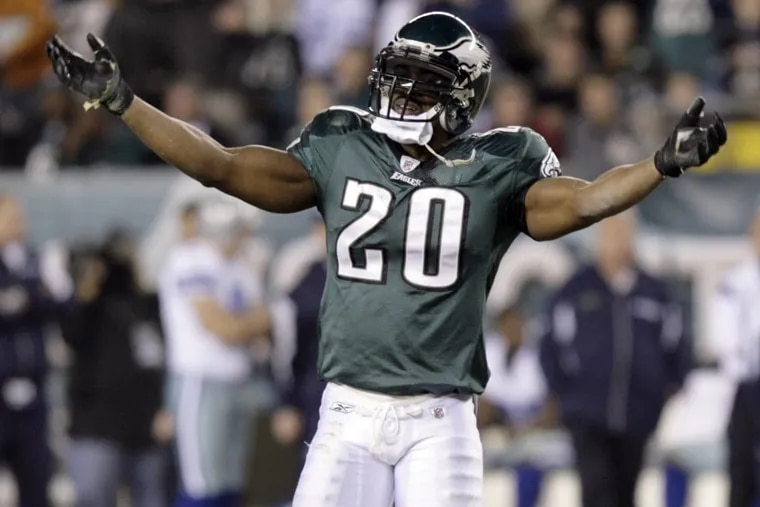 The heart of the Eagles defense, safety Brian Dawkins played 13 seasons in Philadelphia.