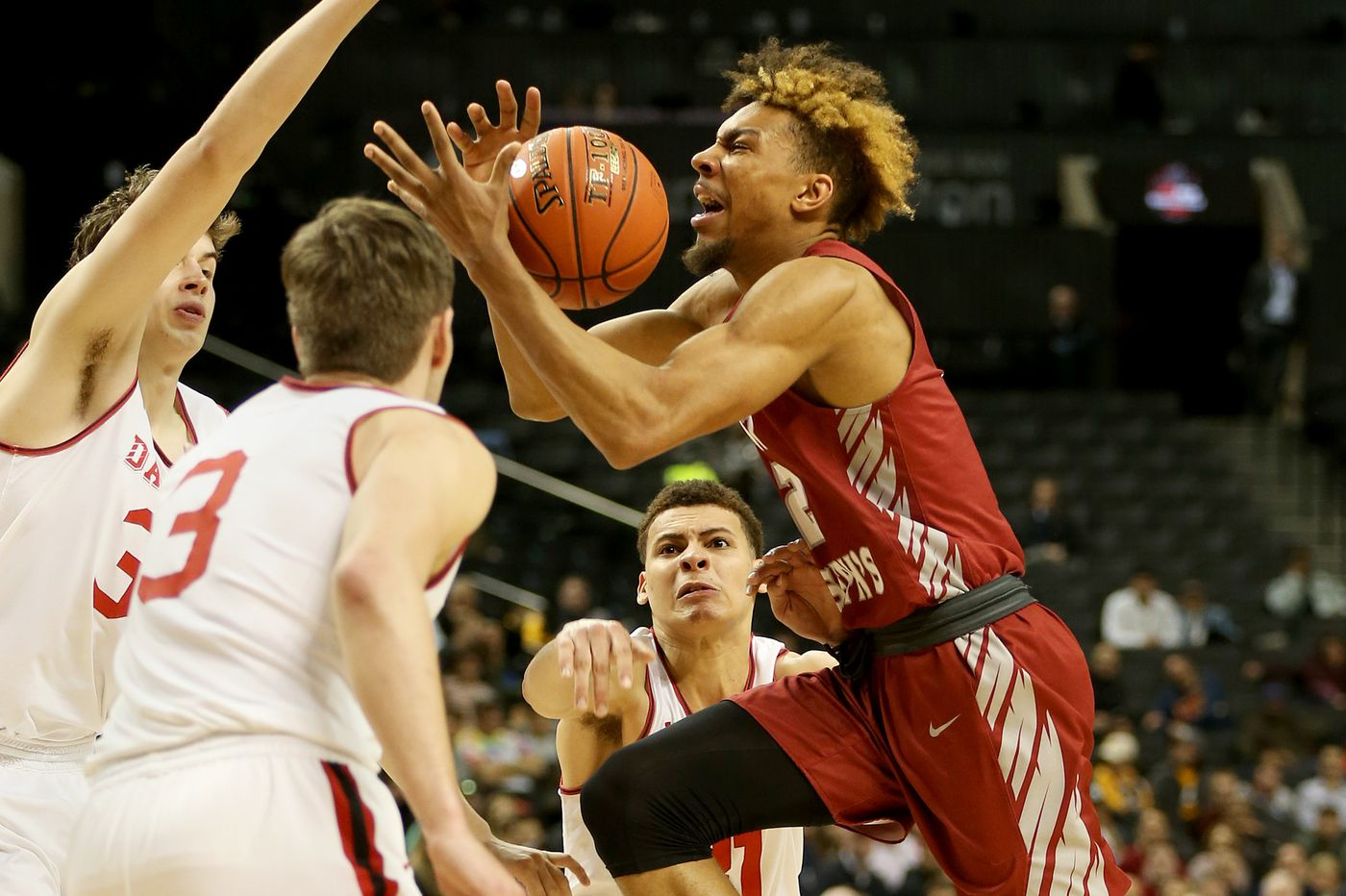 Former St. Joseph's forward Charlie Brown feeling good after Sixers predraft workout