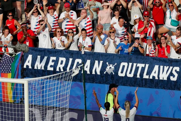 Crystal Dunn (left) and Julie Ertz (right) are expected to be key players for the U.S. women's soccer team at next year's Olympics in Tokyo, as they were at this year's World Cup in France.