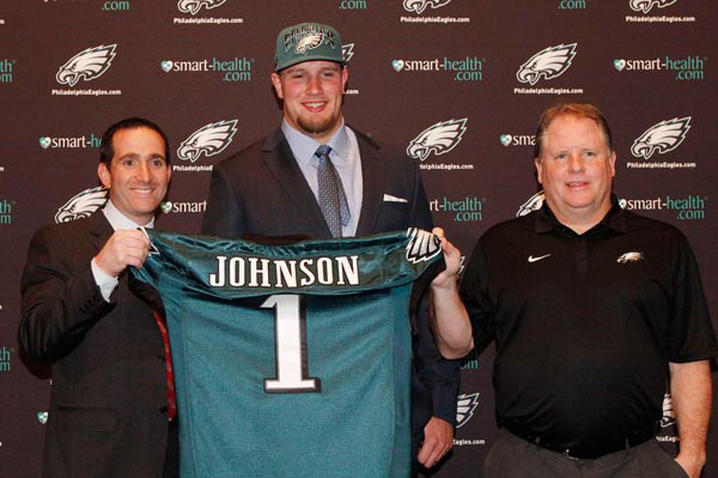 Howie Roseman and Chip Kelly on the same page