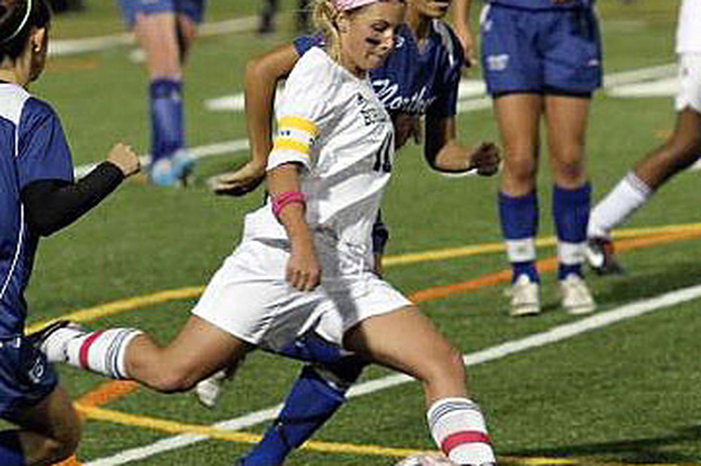 McTamney is top S.J. girls' soccer player