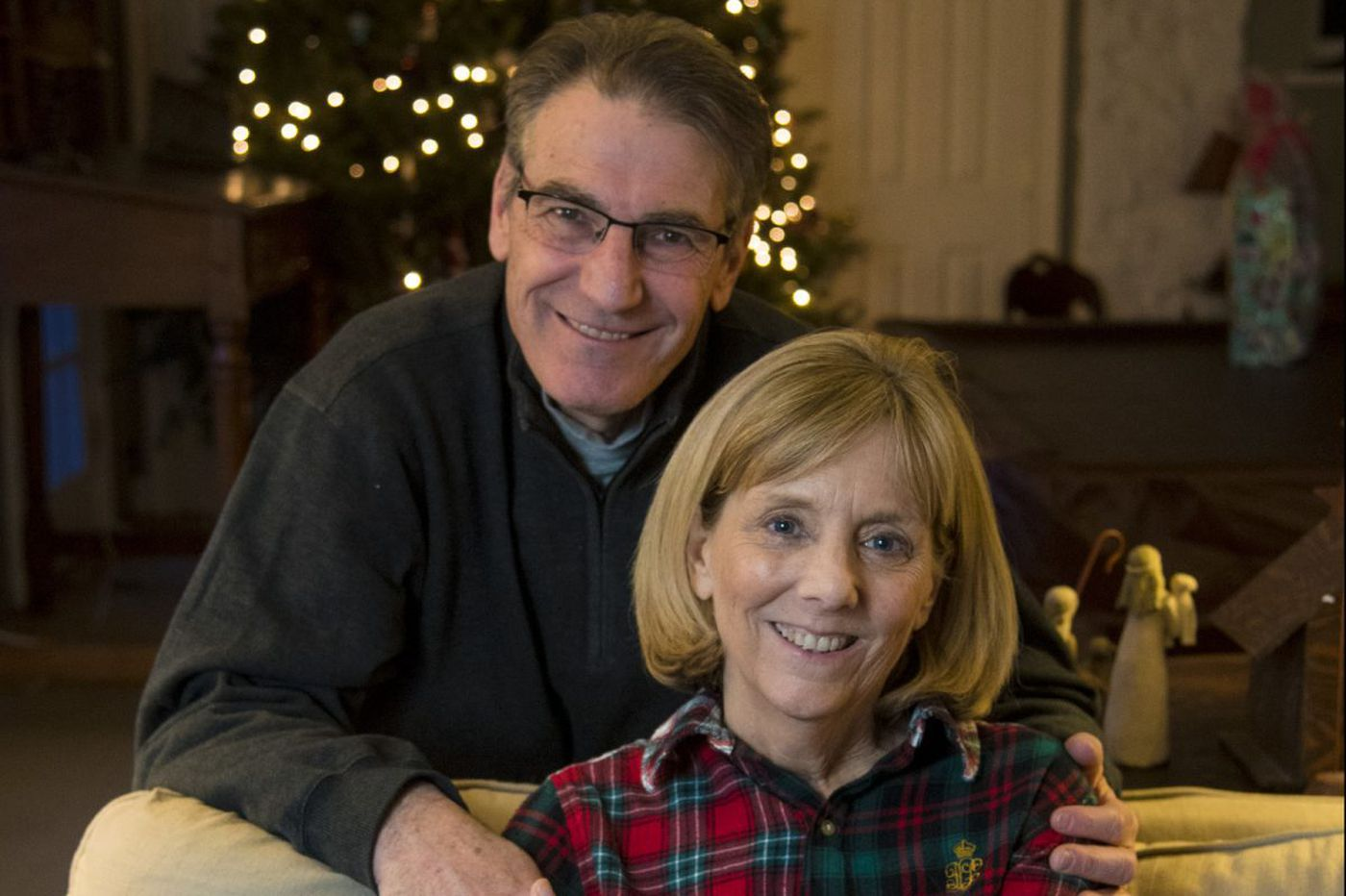 'Is this my last Christmas?' After battling cancer - twice - Wayne couple help others cope