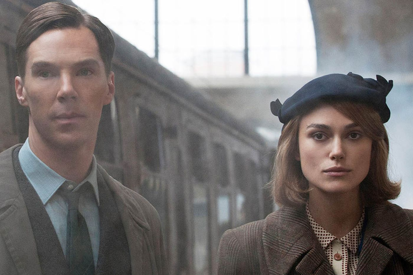 As genius WWII code-breaker Joan Clarke, Keira Knightley is forced to play the 'Game'