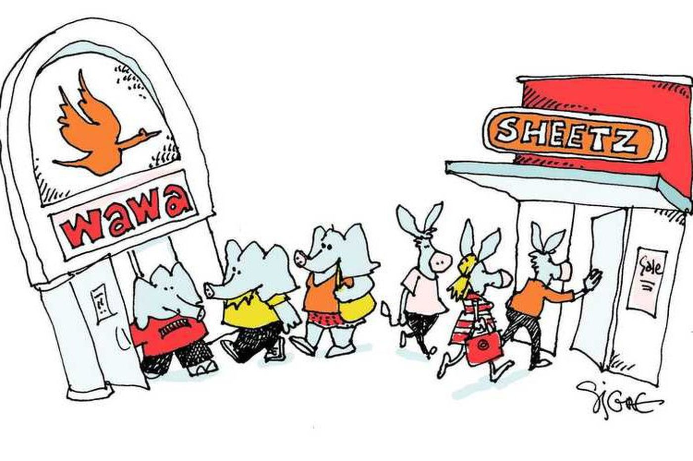 The Wawa vs. Sheetz war gets political: Stores donate to dueling Pa. governor campaigns | Clout