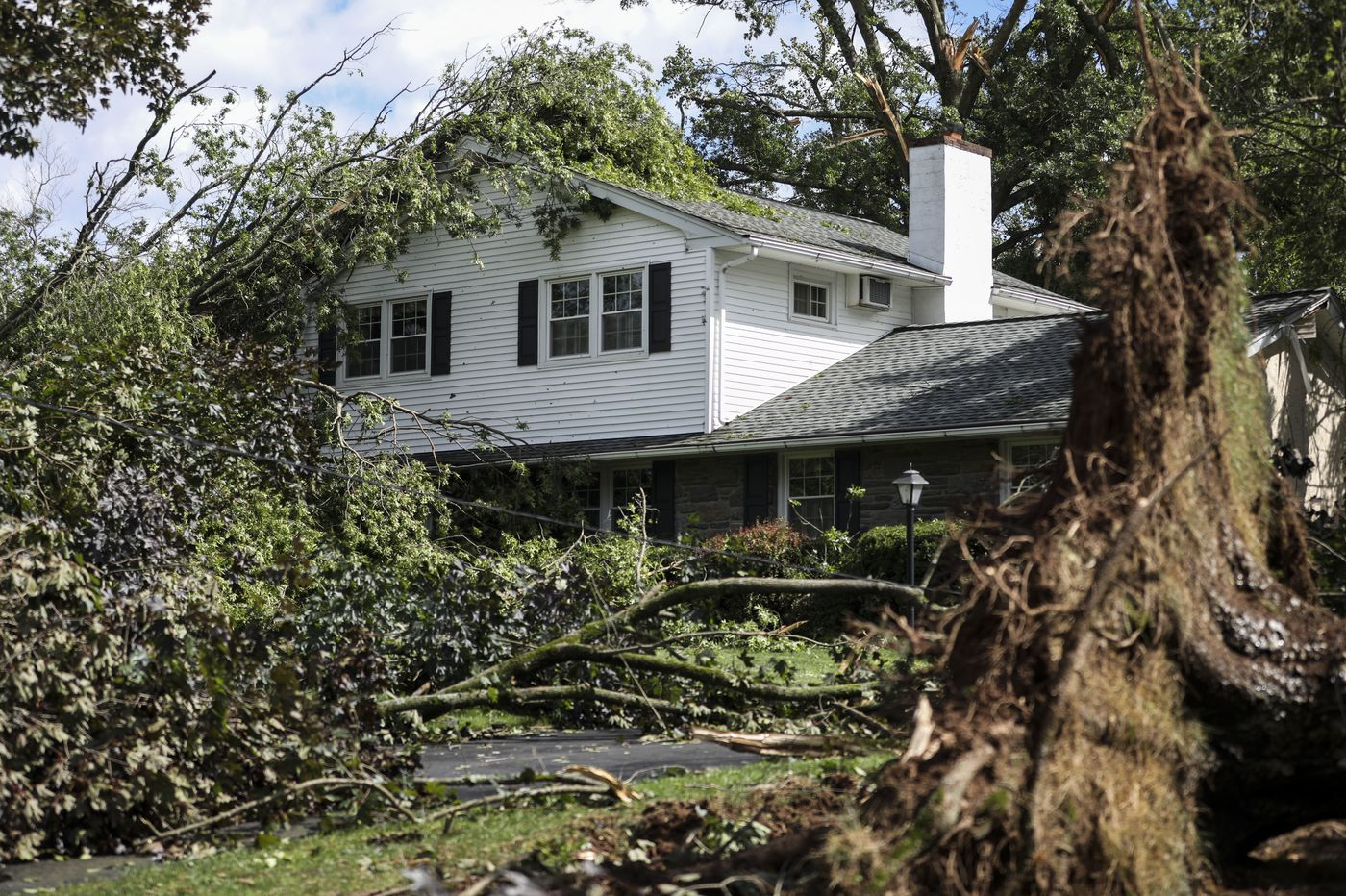Across the Philly suburbs, Isaias left property damage, broken spirits in its wake