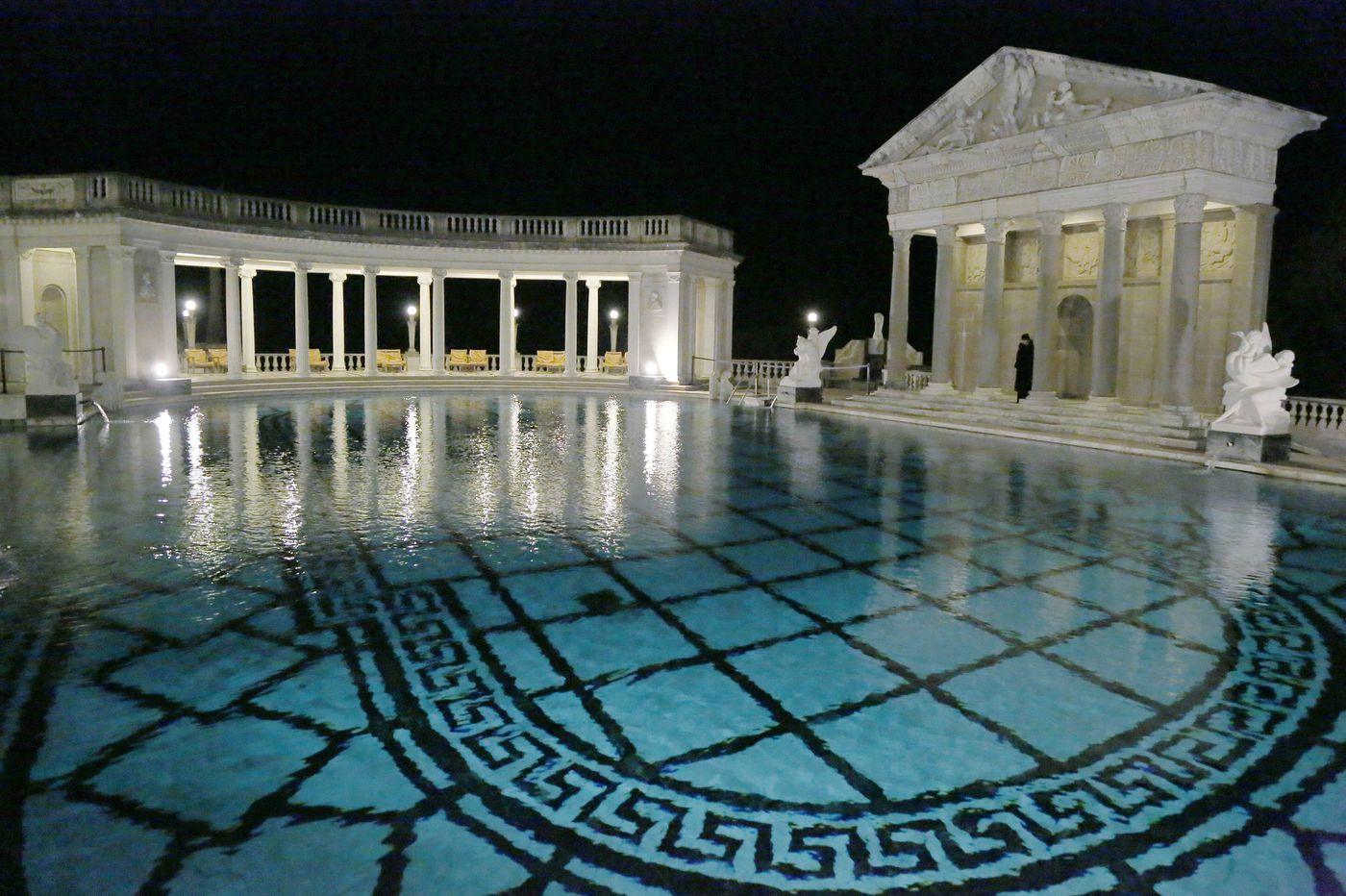 You can swim at Hearst Castle — for a cool $1,250