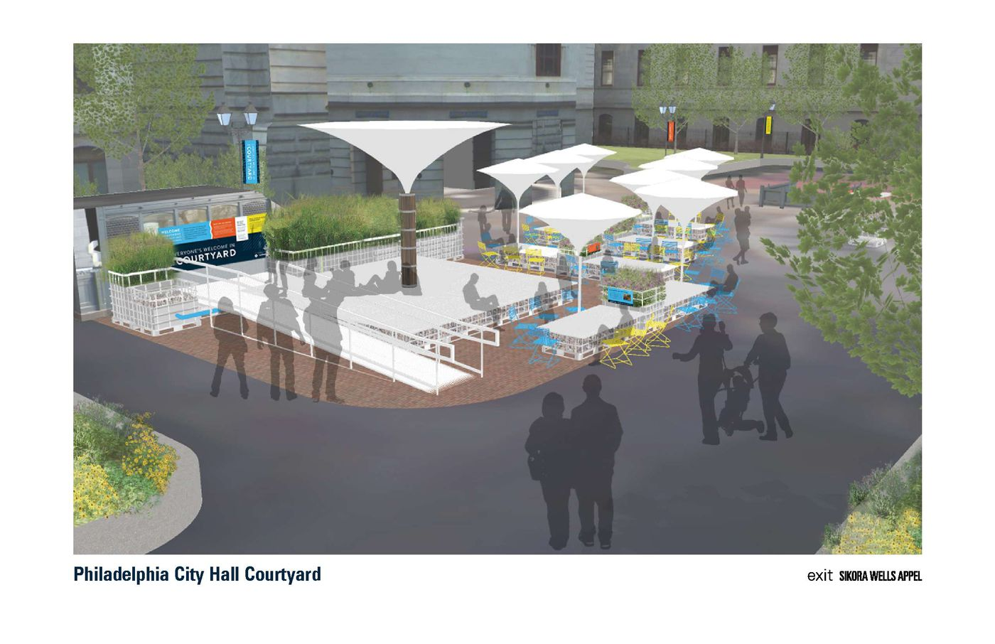 Image of: After Dilworth Park S Success What About City Hall Courtyard