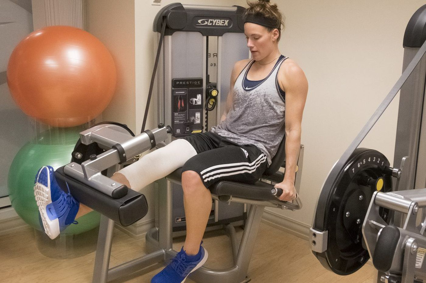 Maggie Lucas pours drive to succeed into overcoming knee injuries | Mike Jensen