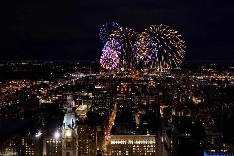 Celebrate the New Year at One Liberty Observation Deck's Midnight from the Top