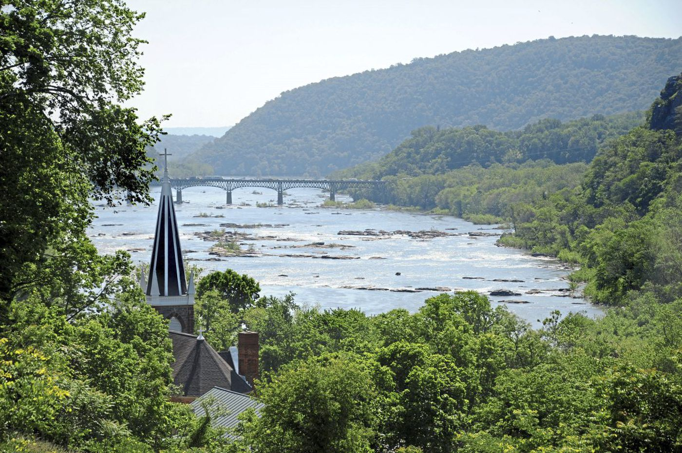 Harpers Ferry: 'Worth a voyage across the Atlantic'