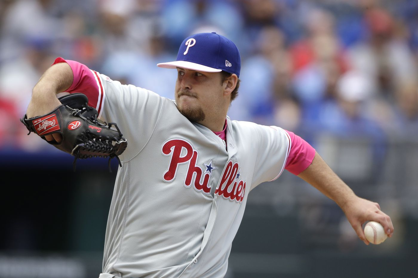 Phillies rookie Cole Irvin sails through seven innings to win major-league debut, 6-1, over Royals