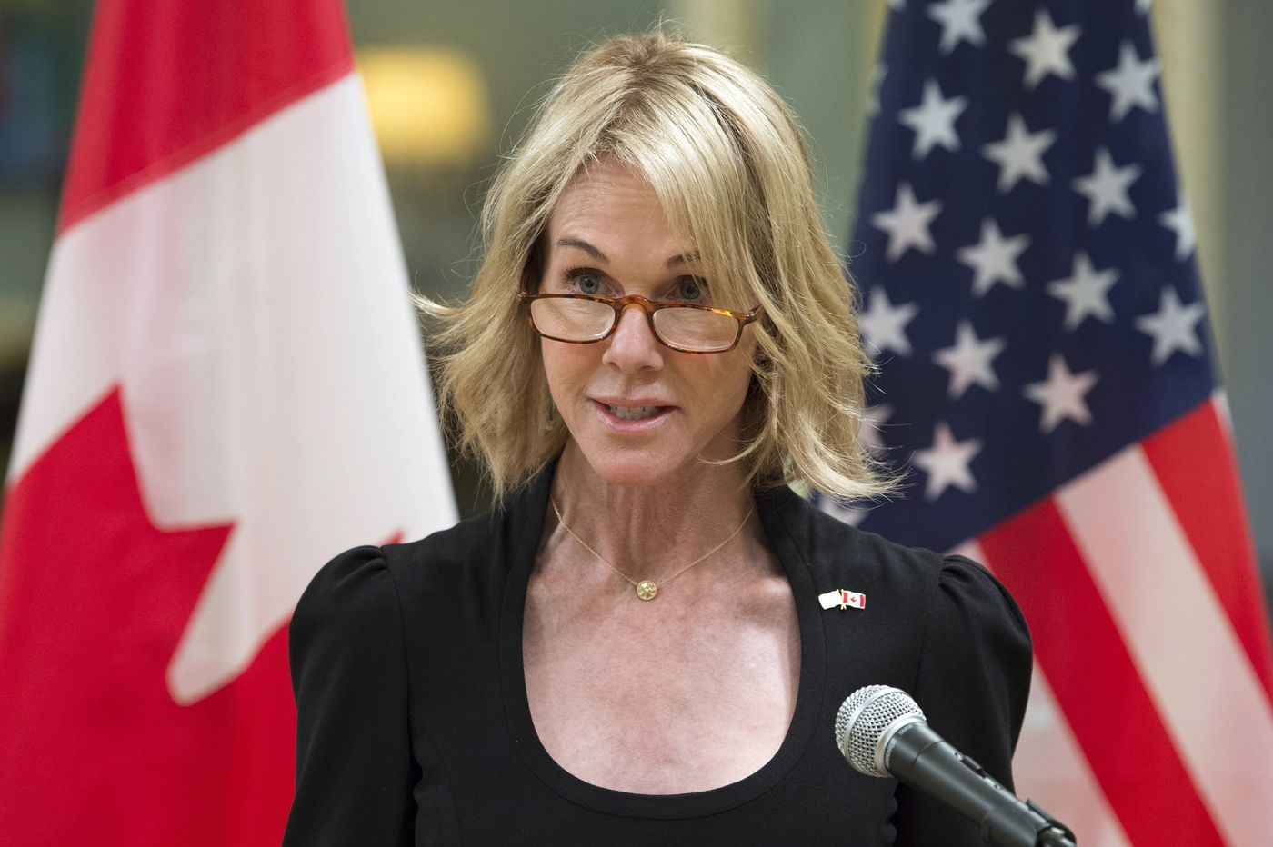 U.S. ambassador to Canada emerges as favorite for U.N. post