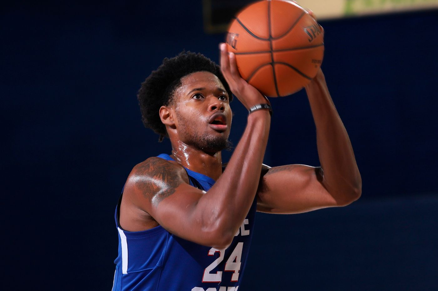 Sixers sign Haywood Highsmith to two-way contract