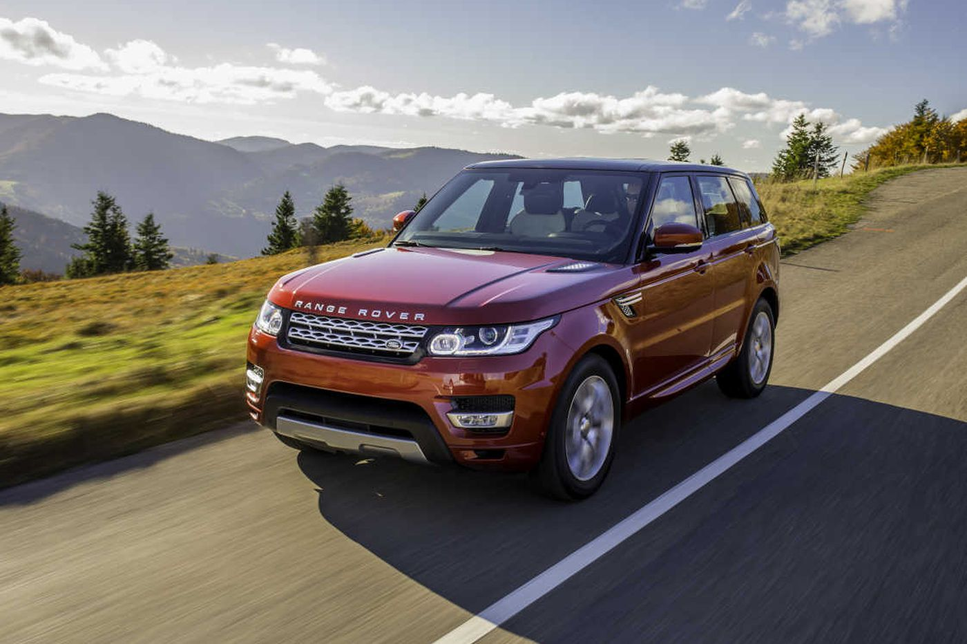 Range Rover Sport goes anywhere in luxury and discomfort