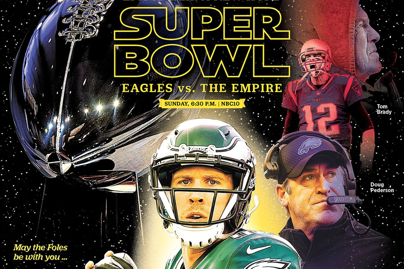 Eagles-Patriots Super Bowl 2018: Get our Star Wars-themed special preview section coverage