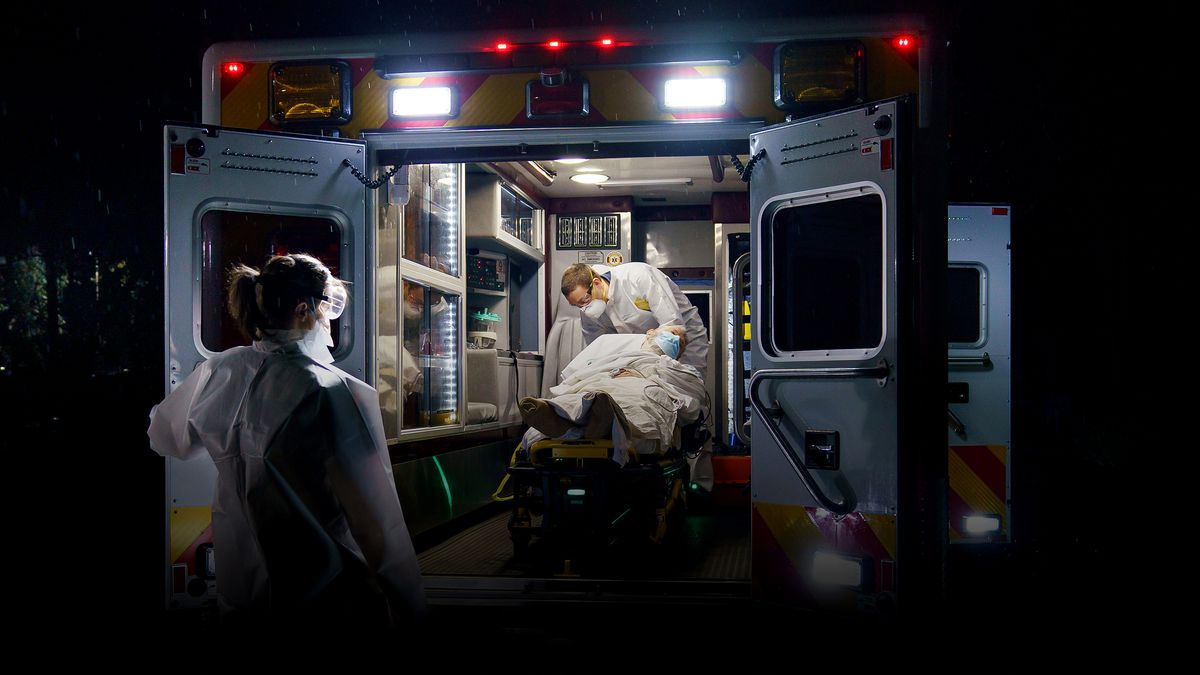 Main Line Paramedics Battle Coronavirus In Fight To Save Lives Call an ambulance but not for me is a popular meme based on a video posted by las vegas gunfights. main line paramedics battle coronavirus