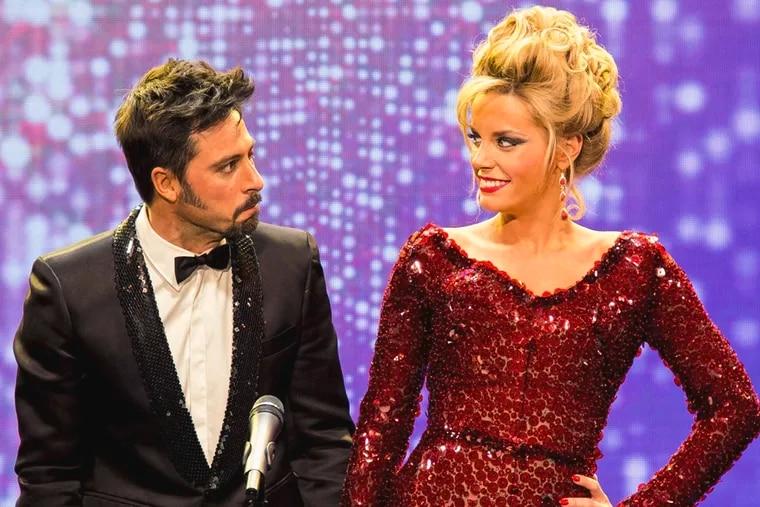 "Hugo Silva and Carolina Bang in Álex de la Iglesia's show-biz satire ""My Big Night."""