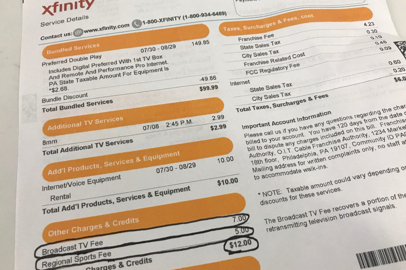 How cable companies could be adding $450 a year to your bill in hidden fees