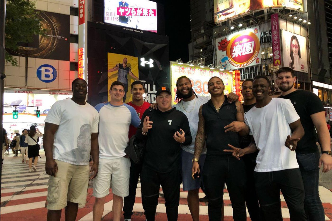 Temple football players and coaches impressed by Japan during coaching clinic trip