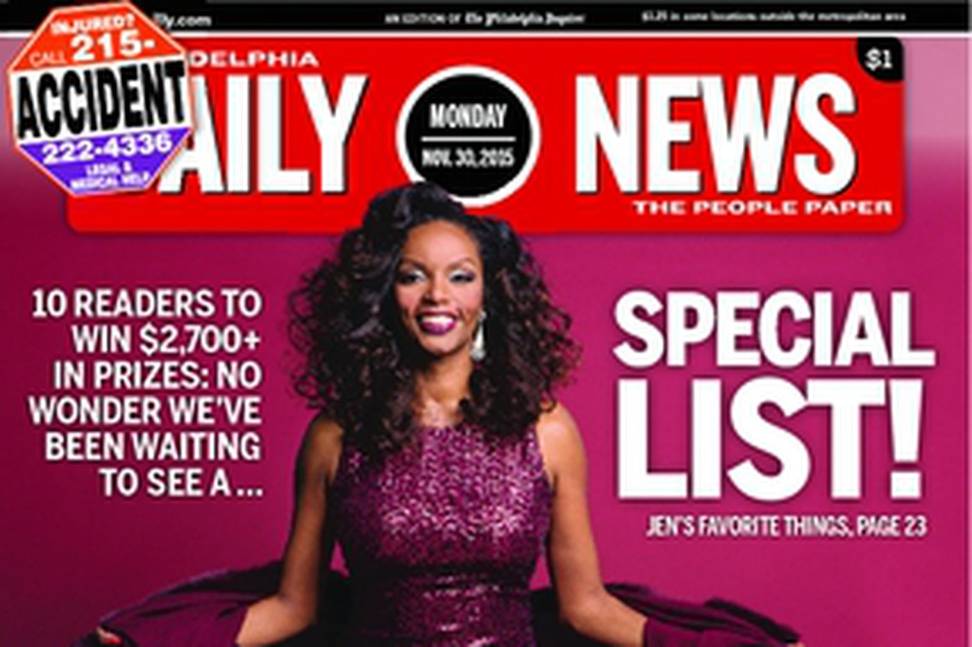 Dailynews Monthly Covers 11/30/15