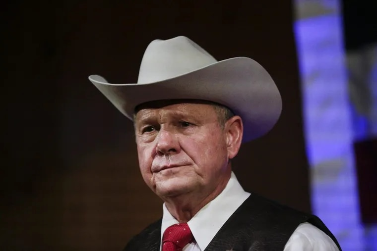 Former Alabama Chief Justice and U.S. Senate candidate Roy Moore is accused of sexually assaulting a 14-year-old girl in 1979.