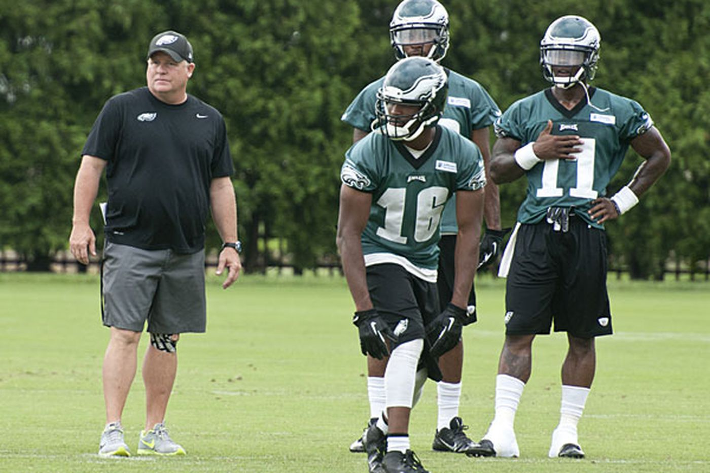 In May and June, everything's rosy for the Eagles