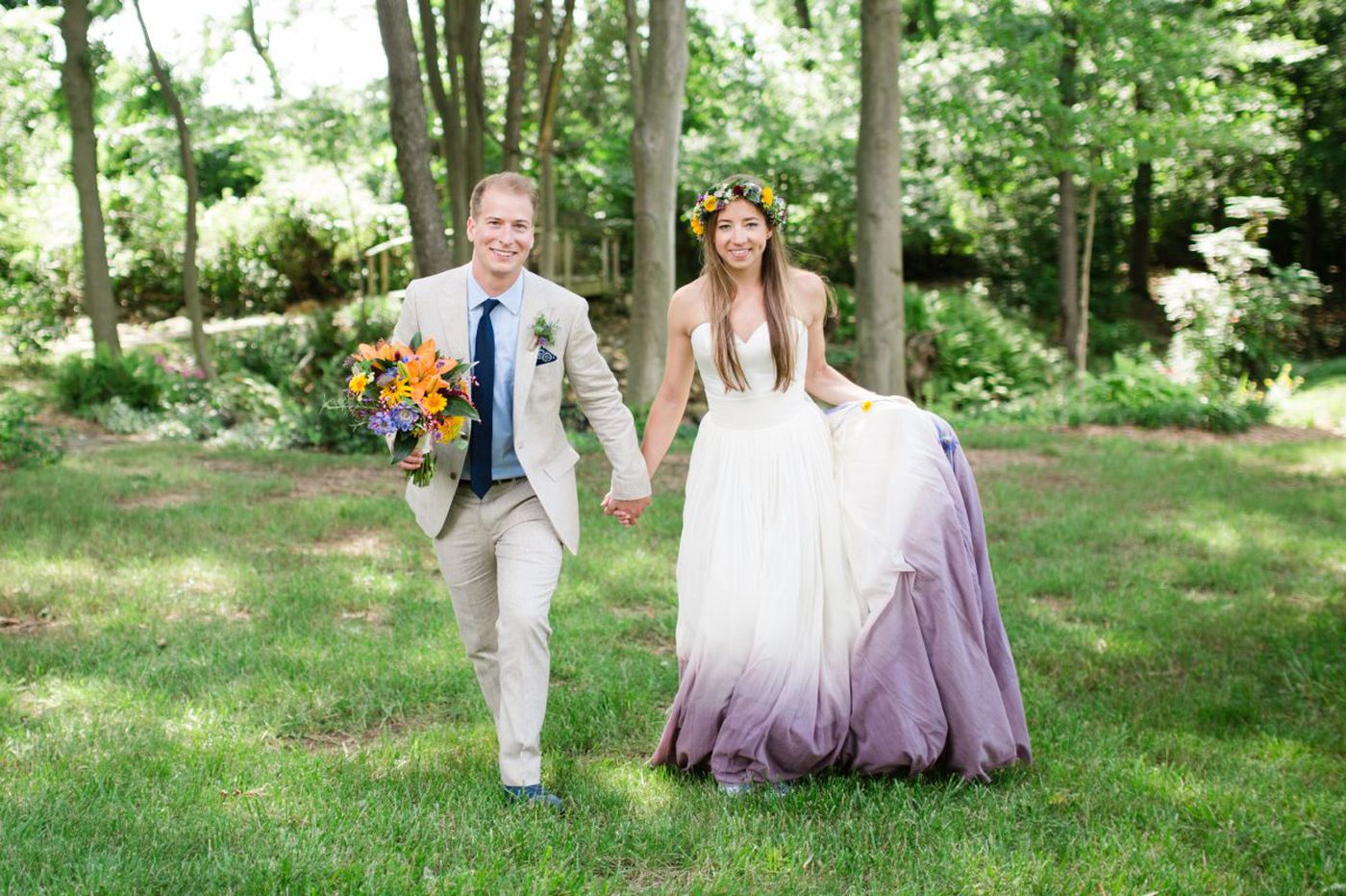 Weddings: Christina Matthias and Hank Garrett