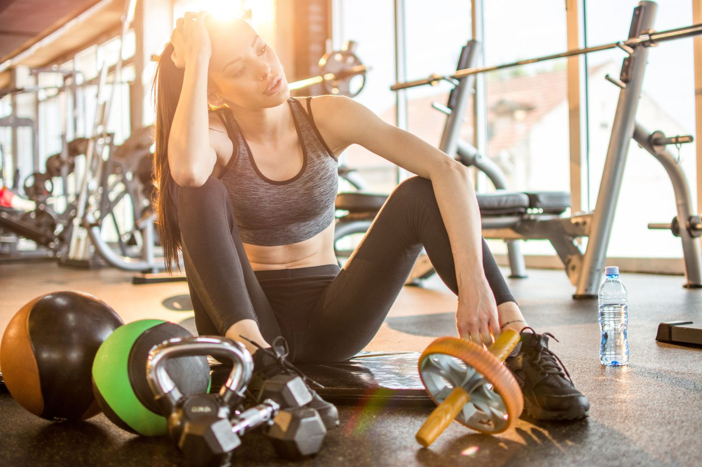 How important is the 'after-burn' transition from exercise to rest?