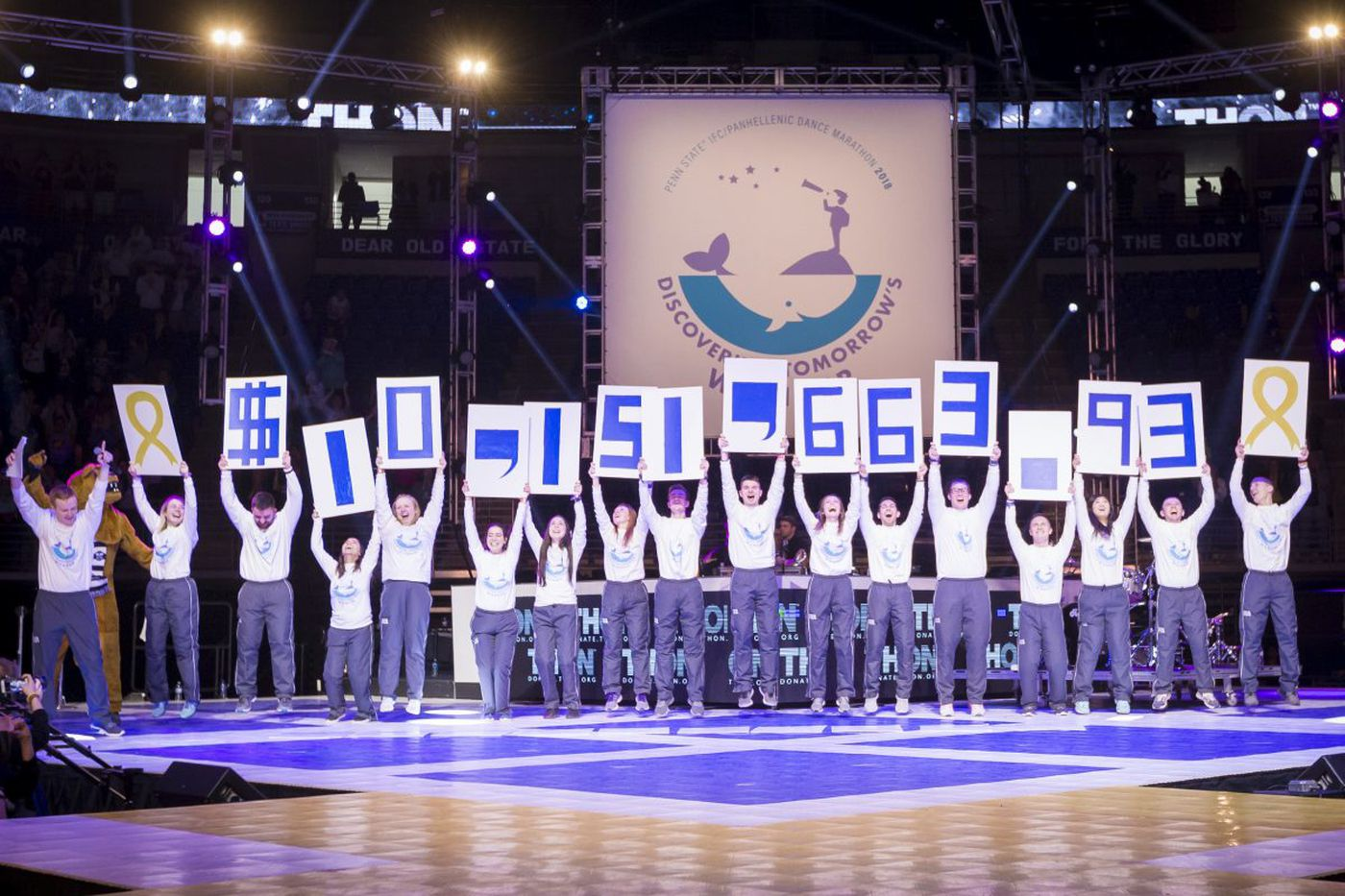 Penn State's Thon smashes $10M fund-raising mark