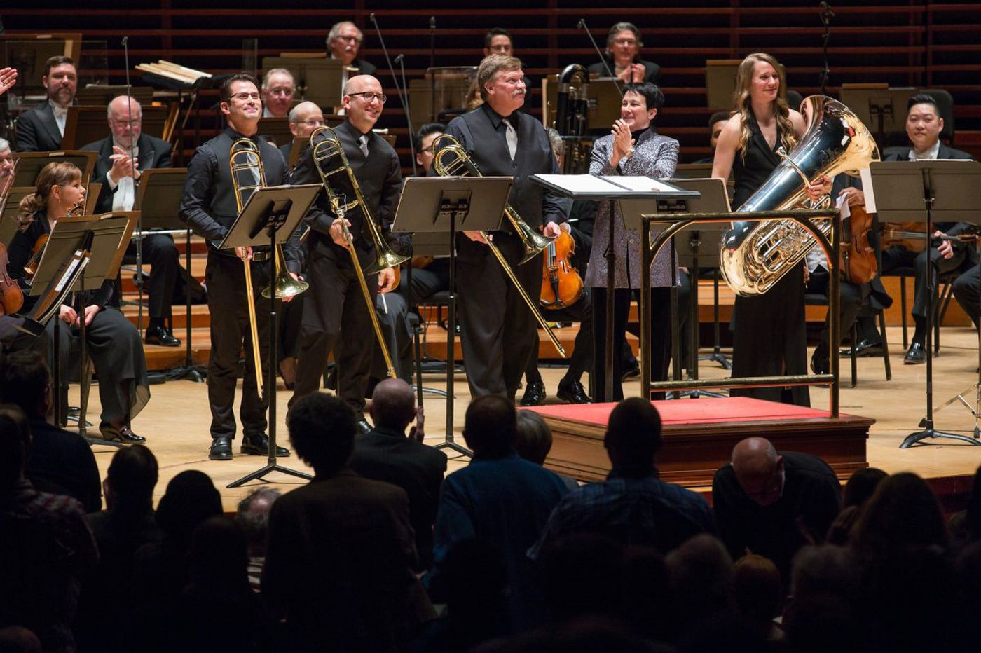 Jennifer Higdon's 'Low Brass Concerto' feels lyrical but cold in its Philadelphia premiere