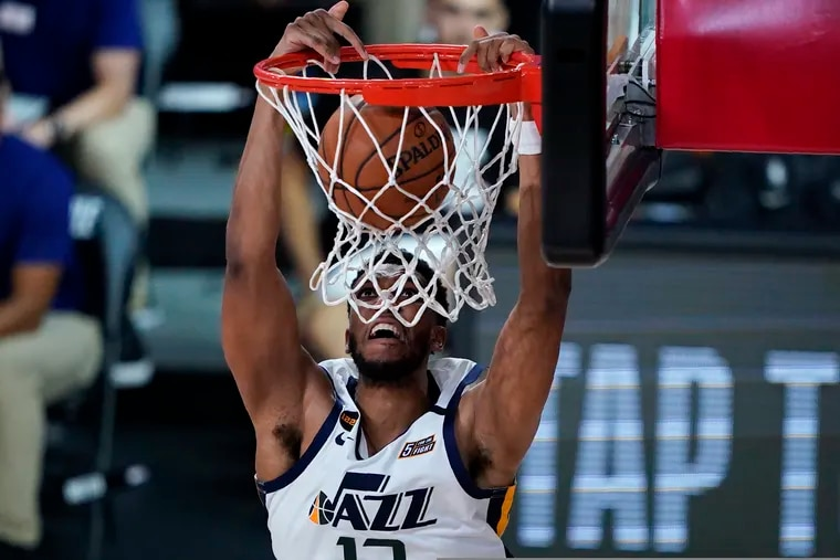 New Sixers center Tony Bradley played his first three NBA seasons with the Utah Jazz.